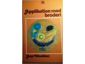 Bok: Applikation med broderi