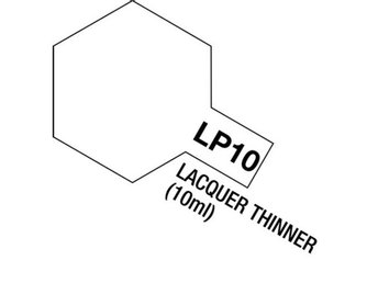 Tamiya Lacquer Paint 10ml : LP-10 Lacquer Thinner