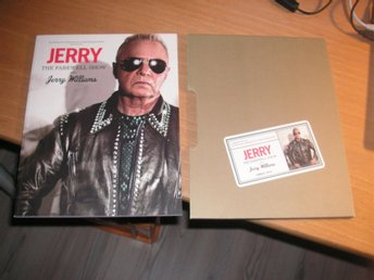 JERRY WILLIAMS The Farewell Show Cirkus 2014 Program med folder