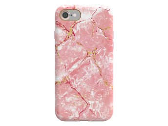 MSKL GOLD RUSH CASES | IPHONE 7/8 | PINK ROSA LAURA MARBLE