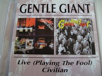 GENTLE GIANT Live+1  2 - CD GOTT SKICK!!!