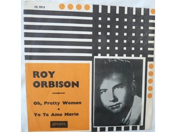 Roy Orbison - Pretty woman - skivomslag ( ingen skiva)