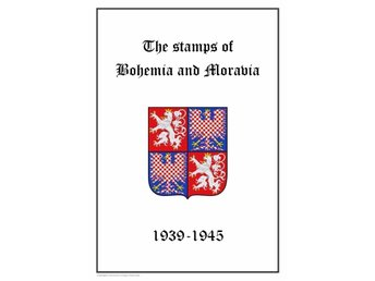 Tyskland Germany Bohemia och Moravia  1939-1945 PDF DIGITAL STAMP ALBUM PAGES