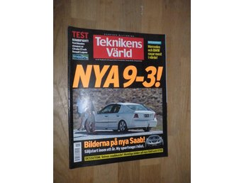 Teknikens Värld nr 18, 2001, Mercedes BMW Ford Citroen