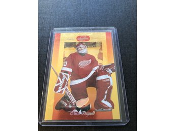Chris Osgood 1996-97 Leaf limited GOLD parallell