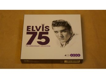 ELVIS 75 THE ANNIVERSARY COLLECTION (4CD)