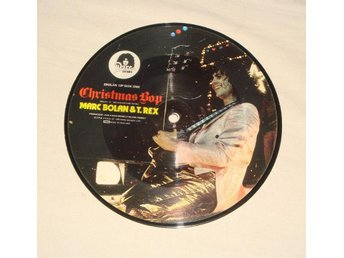 MARC BOLAN & T.REX - CHRISTMAS BOY UK-1982 PIC DISC 7""