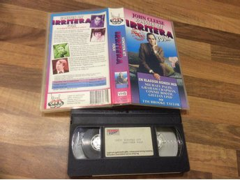 KONSTEN ATT IRRITERA FOLK VHS John Cleese,Michael Palin,Graham Chapman mm
