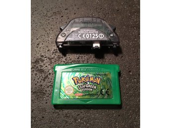 GBA - Pokémon Leaf Green EUR + Wireless Adapter - Pokemon Leafgreen