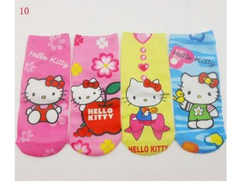 Hello Kitty 4 par strumpor  Socks 18 cm.
