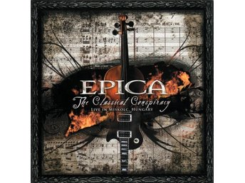 Epica -The classical conspiracy DCD symphonic female metal