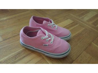 Supersöta rosa Vans sneakers, stl 24