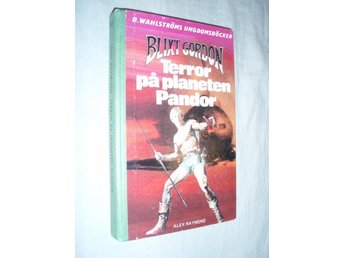 Alex Raymond - Blixt Gordon Terror på planeten Pandor - Norsjö - Alex Raymond - Blixt Gordon Terror på planeten Pandor - Norsjö