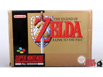 The Legend of Zelda A Link To The Past  (inkl. Skyddsbox & Bergsala)