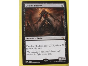 Death's shadow Magic the Gathering