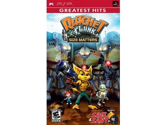 Ratchet & Clank Size Matters Greatest Hits (Amerikansk Version)