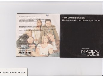 TIM CHRISTENSEN  -  RIGHT NEXT TO THE RIGHT ONE  1  TR  PROMO - DIZZY MISS LIZZY
