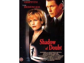 I MAKTENS SKUGGA / SHADOW OF DOUBT (1998) - Tom Berenger - DVD - OOP