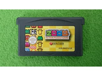 Zooo Action Puzzle Game Gameboy Advance Nintendo GBA