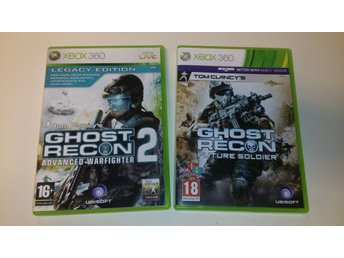 - Ghost Recon 2-Pack XBOX360 -