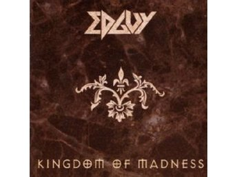 EDGUY-2 Cd-Kingdom Of Madness 1997+CD Singel Painting On The Wall 2001