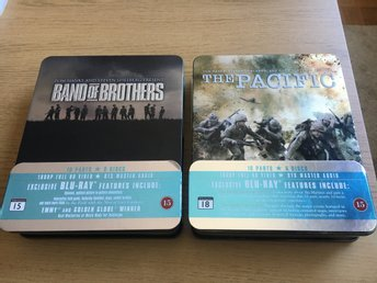 Band of Brothers + The Pacific (Blu-ray + Steelbook)