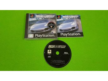 Need for Speed Porsche 2000 Playstation PSone ps1