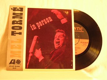 "Mel Torme´   -   "".......in person""                EP w. PS"