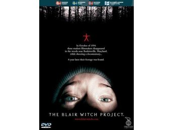 2st DVD SKRÄCK-THE BLAIR WITCH PROJECT+BLAIR WITCH 2 (Book Of Shadows)