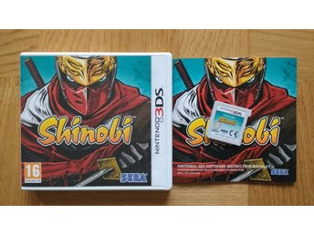 Nintendo 3DS: Shinobi