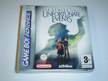 Lemony Snickets Unfortune Events Nintendo Gameboy Advance GBA *NYTT*