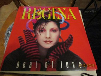 REGINA - BEAT OF LOVE - MAXI