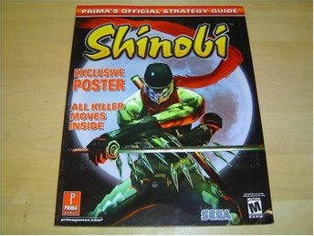 GUIDE SPELET SHINOBI SONY PLAYSTATION 2 PS2 *NYTT*