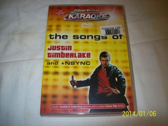 KARAOKE - THE SONGS OF - JUSTIN TIMBERLAKE & NSYNC - HELT NY