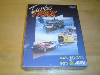 Turbo Trax Commodore Amiga 500 *NYTT*