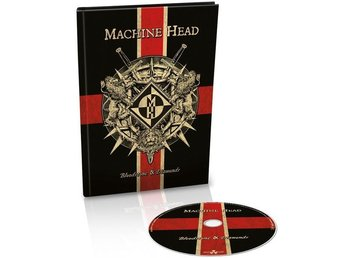 Machine Head -Bloodstone And Diamond STILL SEALED cd A5 book