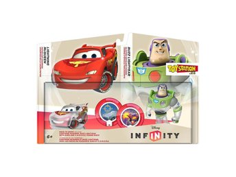 RACE to SPACE Colector Pack Disney Infinity - 2 Figs + 2 Limited Power Disc