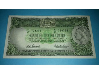 Commonwealth of Australia ¤ £1 ¤ Coombs Wilson