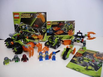**LEGO POWER MINERS  #8959, 8958, 8957, & 8956  **