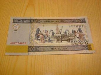 2001 Azerbajdzjan 1 000 Manat ocirkulerad ovh ovikt UNC - Jämjö, Blekinge - 2001 Azerbajdzjan 1 000 Manat ocirkulerad ovh ovikt UNC - Jämjö, Blekinge