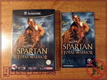 Spartan Total Warrior till Gamecube / GC