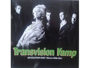 Transvision Vamp title*  Revolution Baby (Electra-Glide Mix)* Pop Rock 12""