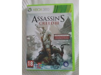 Assasins Creed III Special edition i fint skick till x-box 360 - Svalöv - Assasins Creed III Special edition i fint skick till x-box 360 - Svalöv