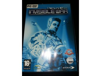 Deus Ex: Invisble War (PC, FPS, RPG, action, kultspelserie)