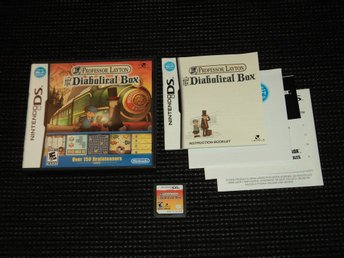 DS Professor Layton Diabolical Box