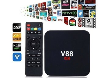 V88 smart Android Tv box 4k