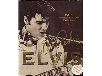 ELVIS PRESLEY   BOK   20TH ANNIVERSARY EDITION