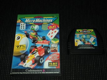 MD Mega Drive Micro Machines