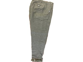 Fältbyxa m58, yllebyxor C46  Swedish woolen army trousers/pants