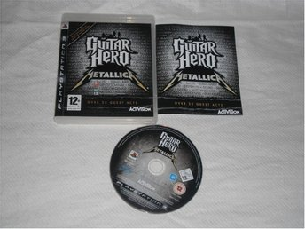 PlayStation 3/PS3: Guitar Hero Metallica (kräver gitarr)